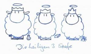 Die heiligen drei Szafe