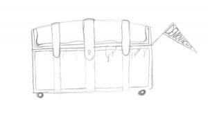 Zu den Zeichnungen den Schrank klicken