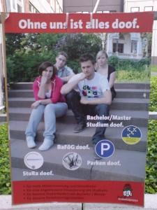 Gremienwahlplakat Juso HSG (Anklicken für größere Ansicht)
