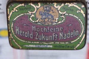 Plattennadeln der Firma Herold