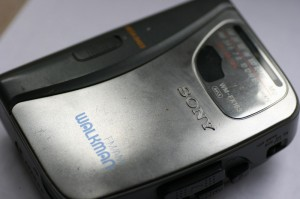 Sony Walkman (mit Radio)